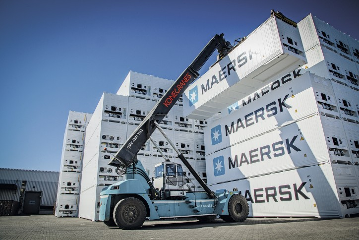 Maersk Line performs high-tech predictive analyses on reefer shipments