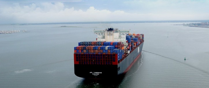 South Carolina Ports Authority Handles Largest Container Ship