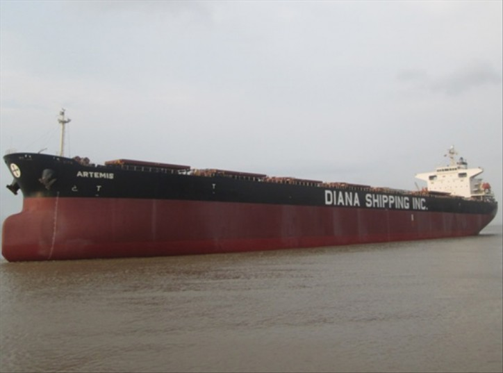 Diana Shipping signs time charter contract for mv Artemis with Ausca