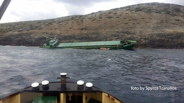 Kerem S aground