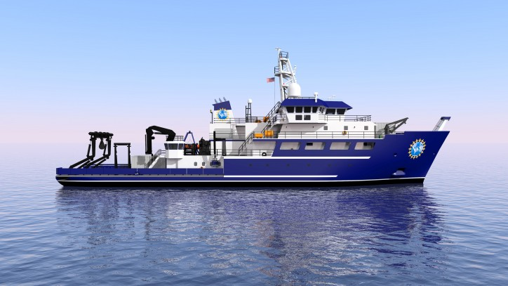 Gulf Island Awarded Third OSU Research Vessel