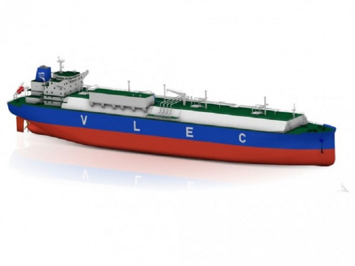 "DNV GL awards AiP to Jiangnan Shipyard for 93K cbm very large ethane carrier design ""PANDA E"""