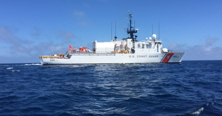 US Coast Guard Cutter Campbell home from 65-day counter narcotics patrol