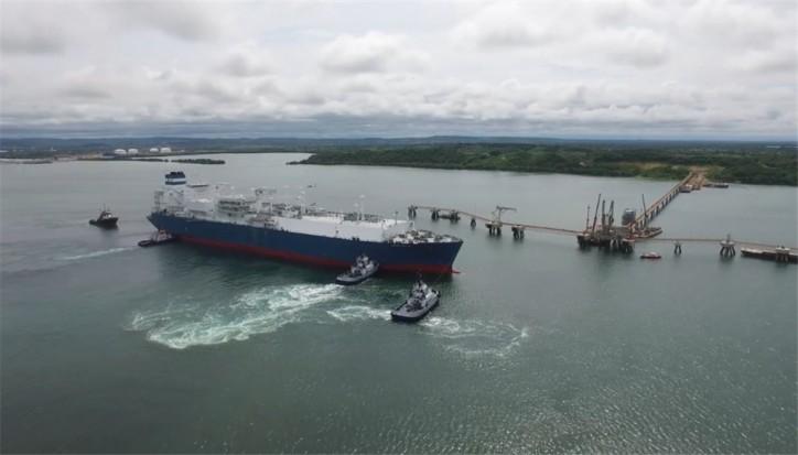 Höegh LNG - FSRU Höegh Grace Arrived in Cartagena, Colombia (Video)