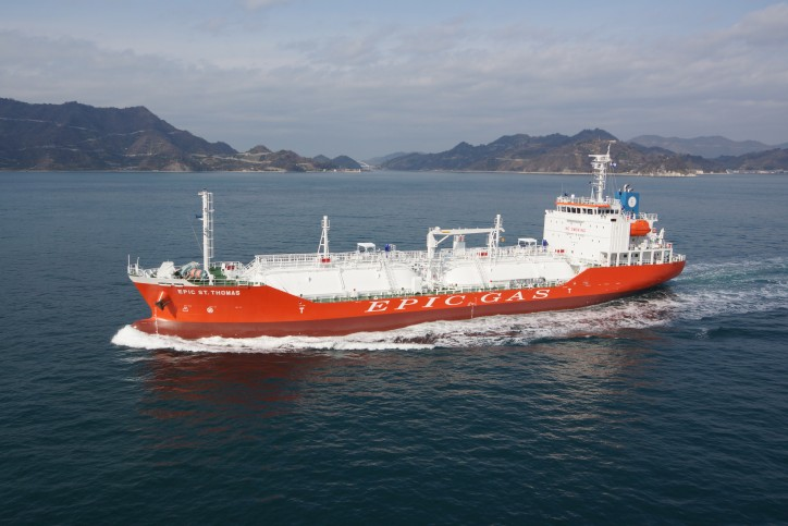 Epic Gas Ltd. Closes US$ 34 Million Refinancing A total of 9 Vessels Refinanced This Year