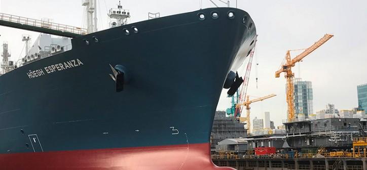 Höegh LNG takes delivery of FSRU number eight, Höegh Esperanza