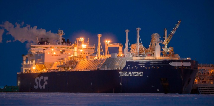 Christophe de Margerie completes her first loading at Sabetta and begins her first commercial voyage for Yamal LNG