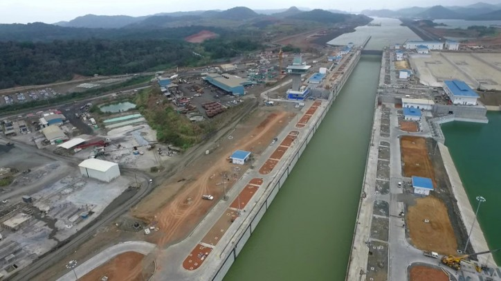 Panama Canal Expansion Progress Update - March 2016 (Video)