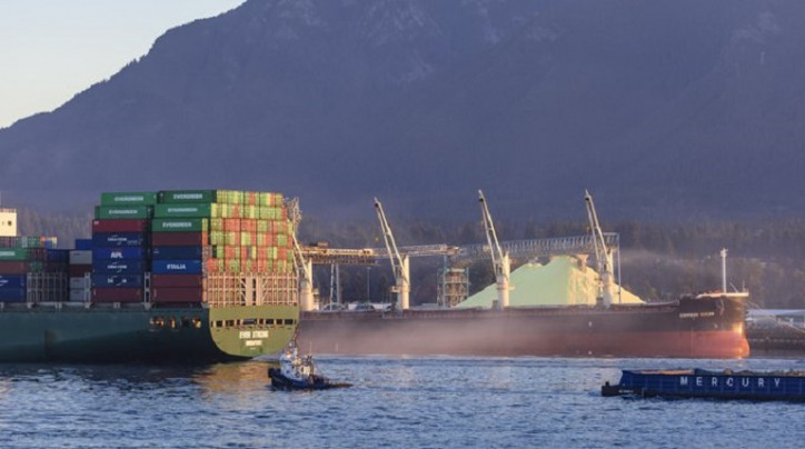 New mid-year record for container volumes through the Port of Vancouver