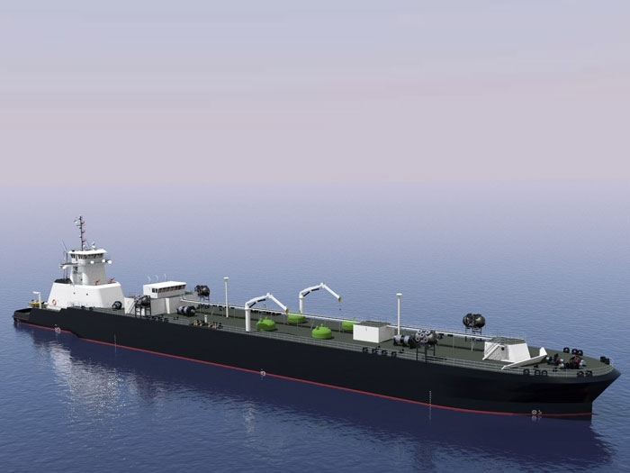 Jensen's LNG-bunkering articulated tug-barge granted approval