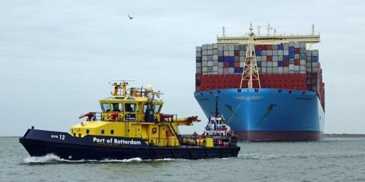 Port of Rotterdam: More vessels call on a safe port