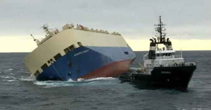 Video Updates: Modern Express under tow; Authorities ashore ready in case of pollution
