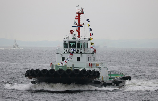 Japan Takes Delivery Of First LNG-Fuelled Tug