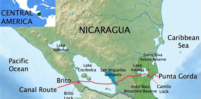 Iran eyes Nicaragua rival to Panama Canal