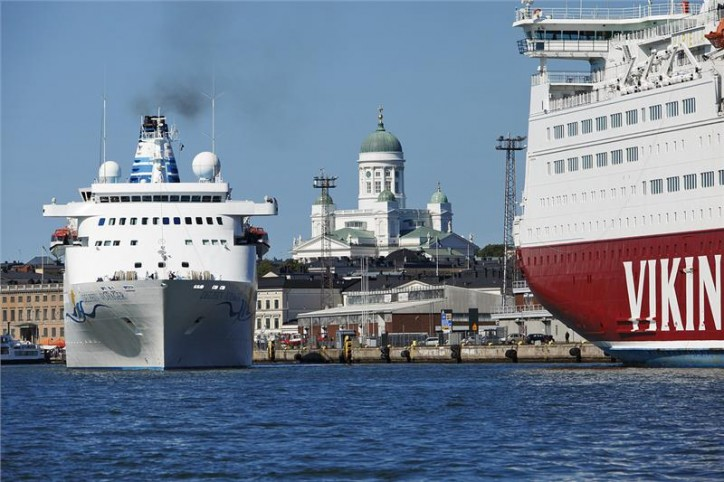 A record-breaking 11.6 million passengers at the Port of Helsinki last year