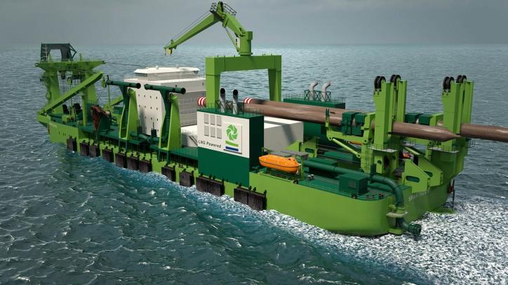 Bakker Sliedrecht wins LNG-powered cutter suction dredger job