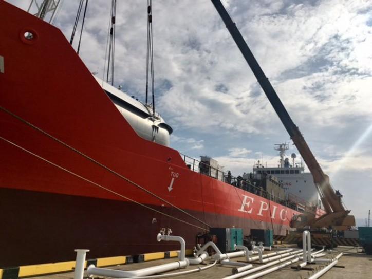 Epic Gas Takes Delivery Of 11,000Cbm Newbuilding - Epic Sardinia