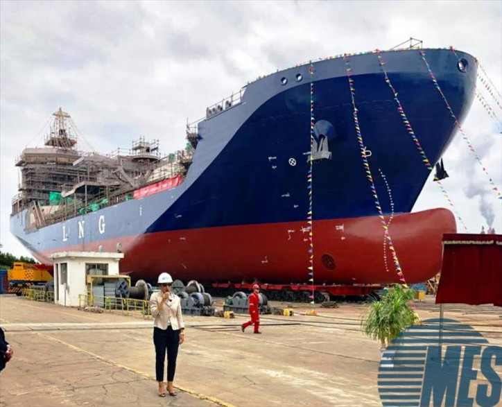 Stolt Nielsen's first 7,500-cbm LNG carrier launched in China