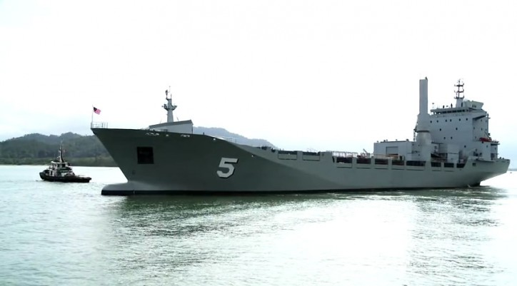 MISC delivers new auxiliary vessel to the Royal Malaysian Navy (Video)