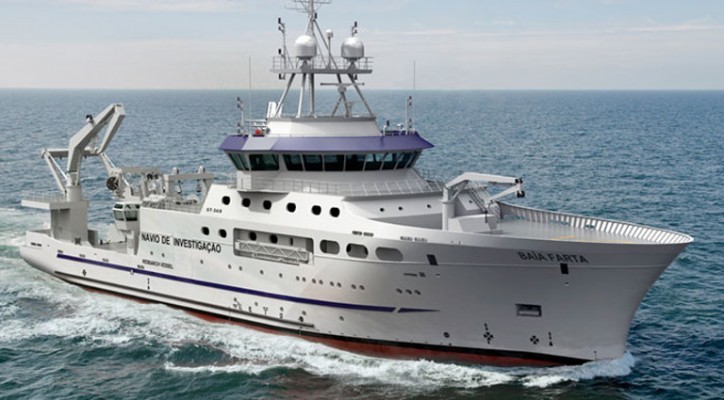 KONGSBERG Integrated Delivery for the New Angolan Research Vessel