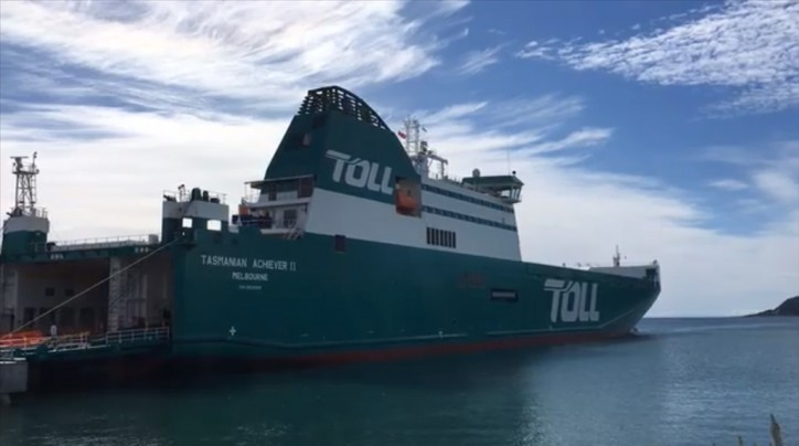 Toll unveils new Australian Ship