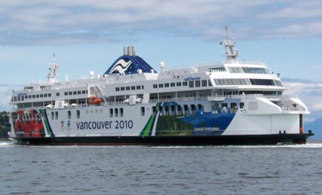 Man deployed 100-person life raft and jumped off ferry in Canada