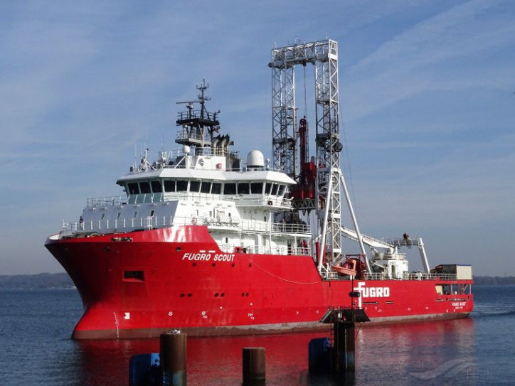 Fugro Awarded Multi-Annual Marine Site Characterisation Project Off The German Coast