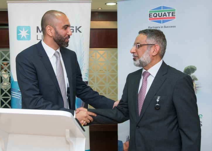 EQUATE and Maersk Line Sign the First Partnership Agreement in Kuwait to Reduce CO2 Emission in Ocean Transportation