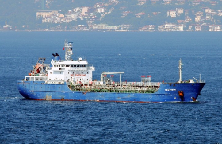 Chemical Tanker Sampatiki Attacked by Pirates off Nigeria; Five Crew Members Kidnapped