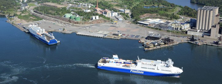 Finnlines will gain from additional berth capacity at the Port of Naantali
