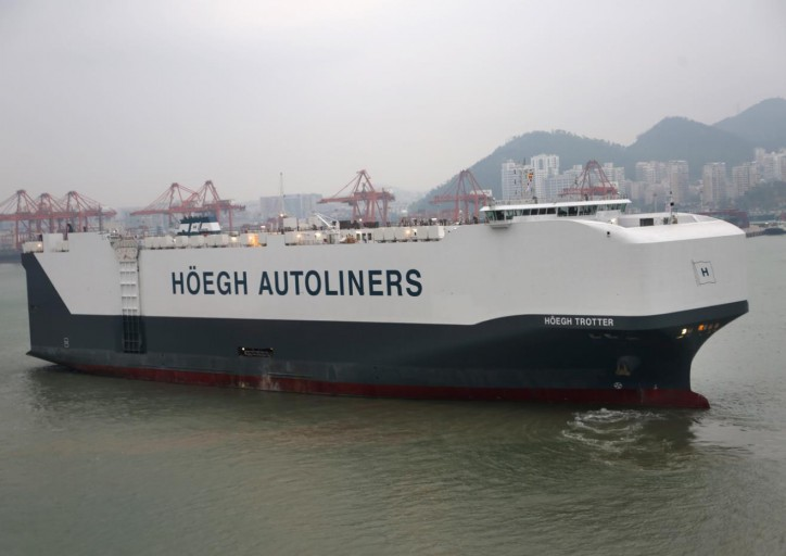 Höegh Autoliners takes delivery of Höegh Trotter
