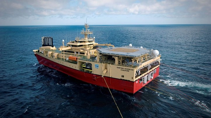 PGS deploys research vessel Ramform Sovereign to acquire the first-ever MultiClient 3D survey offshore Malaysia