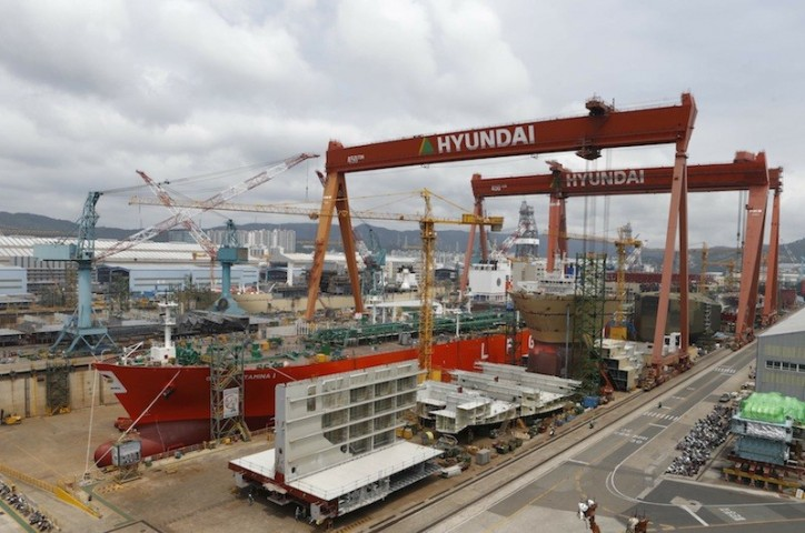 Hyundai Heavy Industries targets $19.5 billion in orders in 2016