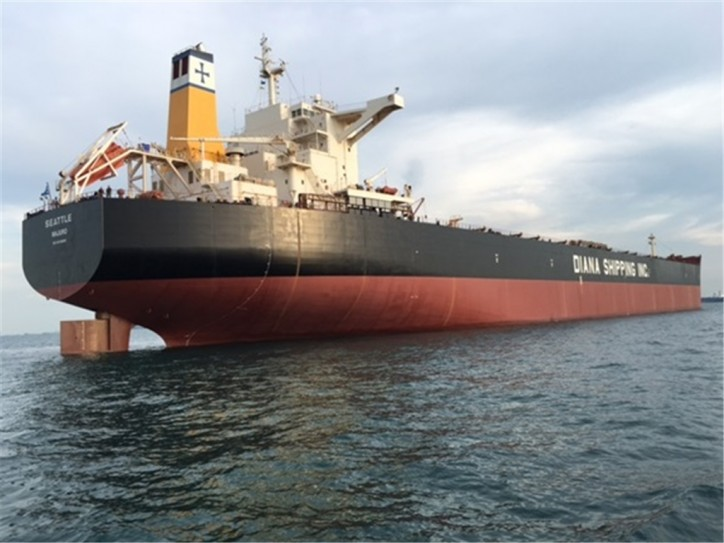 Diana Shipping signs time charter contract for mv Seattle with Koch