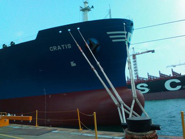 Dorian LPG announces delivery of ECO VLGC Cratis
