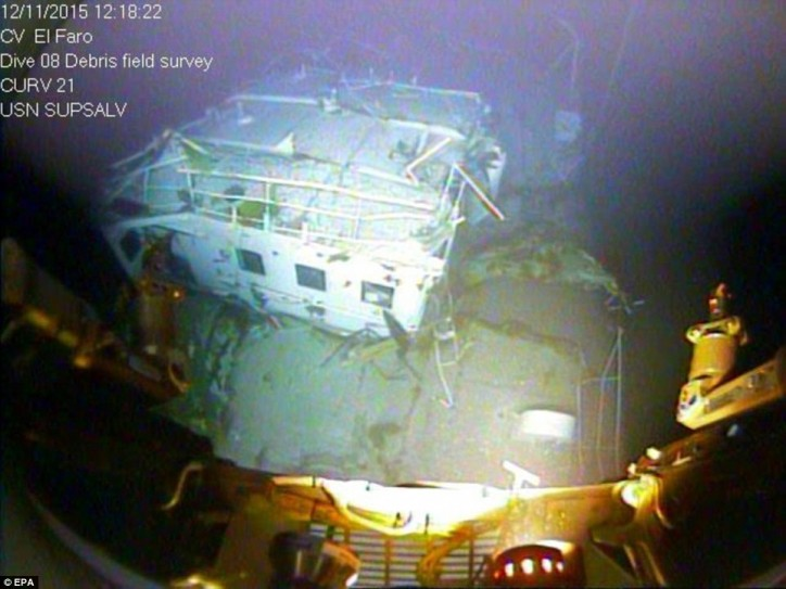 WATCH: First Video Images Of Sunken Freighter El Faro