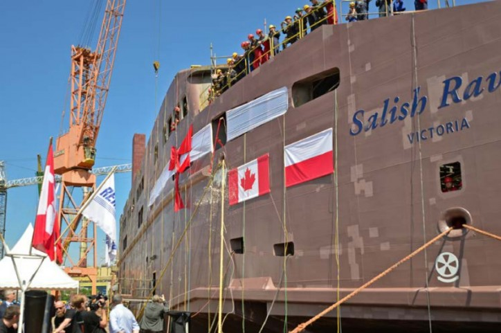 BC Ferries Officially Names The Second And Third Salish-Class Ferries At Special Ceremony