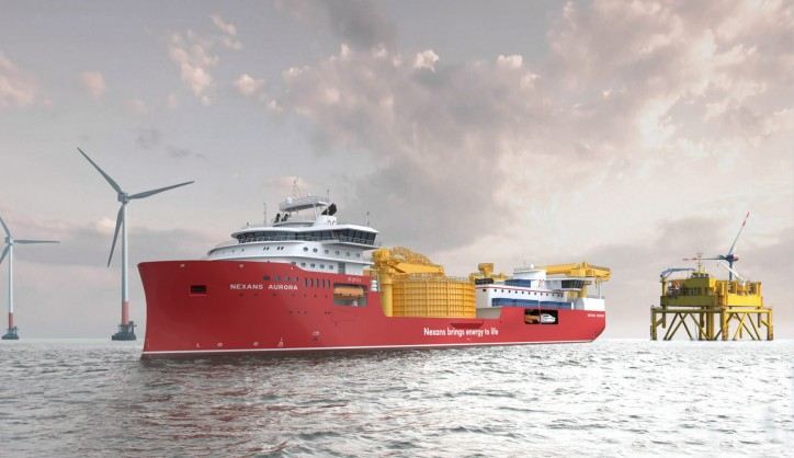 Ulstein Verft to construct large cable-laying vessel for Nexans (Video)