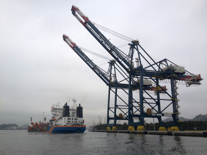 Van Oord joint venture awarded dredging contract Santos port
