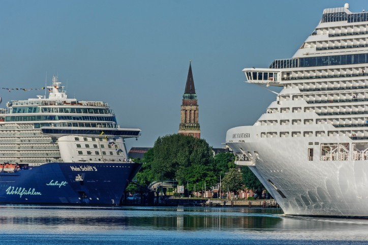Port of Kiel tips record 600,000 cruise passengers