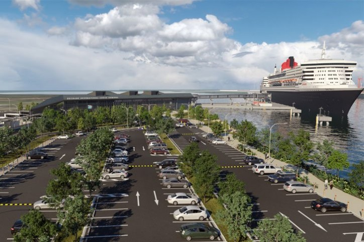 Contracts awarded, construction imminent for mega cruise terminal at Port of Brisbane