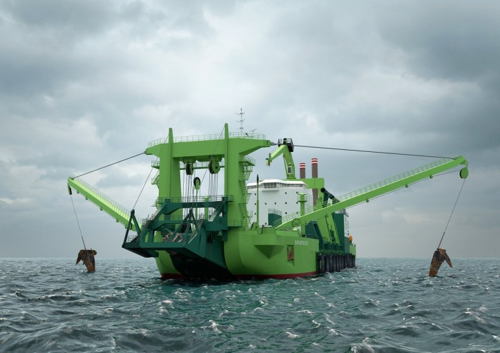 Wärtsilä dual-fuel solution to drive the world's most powerful cutter dredger