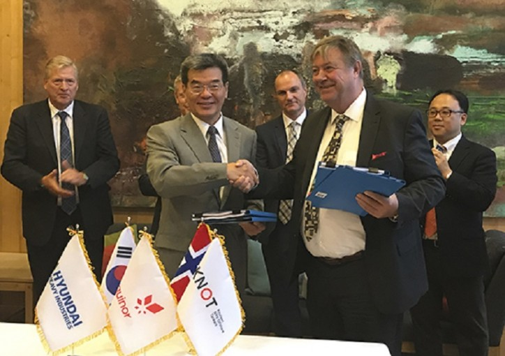 Hyundai Heavy Industries wins US$210 mln oil tanker order from Norway