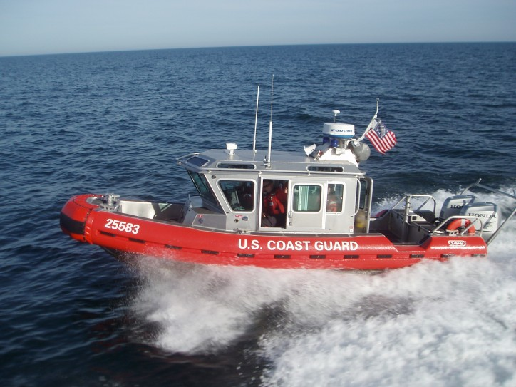 Coast Guard Rescues 6 from Sinking Boat east of Lake Worth, Fla