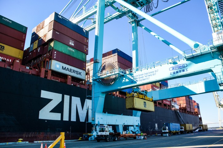 JAXPORT Welcomes First ZIM Vessel