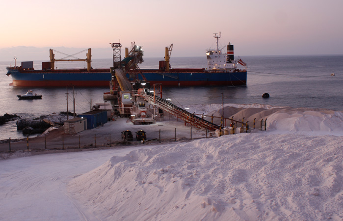 NORDEN enters into long-term contract on transportation of road salt from Chile