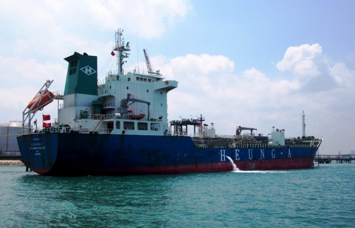 One dead, five injured after explosion aboard tanker Heung-A Pioneer off Tanjung Dawai