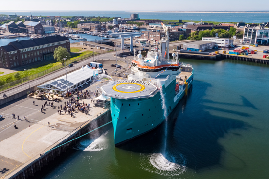 Acta Marine named its third Walk to Work Construction Support Vessel in Den Helder
