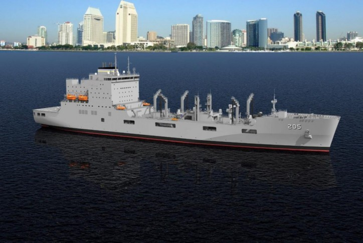 MAN 48/60CR engines selected for New US Navy Tanker Series