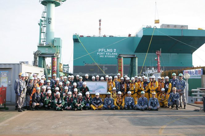 PETRONAS Launches Hull For Its Second Floating LNG Facility, PFLNG2